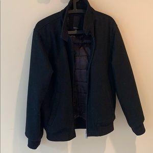 Men: Winter jacket.